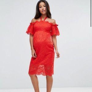 Hope & Ivy maternity dress